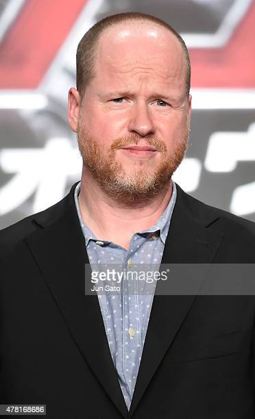 Director Joss Whedon attends the premier event for 'Avengers Age of Ultron' at Roppongi Hills on June 23 2015 in Tokyo Japan