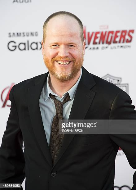 Director Joss Whedon attends the premiere of Marvel's 'Avengers Age Of Ultron' at the Dolby Theatre on April 13 2015 in Hollywood California AFP...