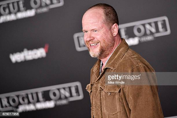 Director Joss Whedon attends the premiere of Walt Disney Pictures and Lucasfilm's 'Rogue One A Star Wars Story' at the Pantages Theatre on December...