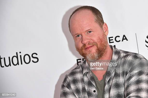 Director Joss Whedon attends the Tribeca Talks Directors Series Joss Whedon with Mark Ruffalo event during the 2016 Tribeca Film Festival at SVA...