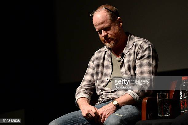 Director Joss Whedon speaks onstage the Tribeca Talks Directors Series Joss Whedon with Mark Ruffalo event during the 2016 Tribeca Film Festival at...
