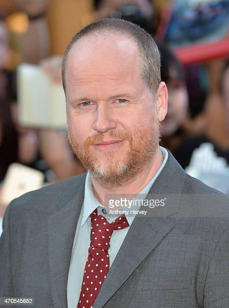 Director Joss Wheldon attends 'The Avengers Age Of Ultron' European premiere at Westfield London on April 21 2015 in London England