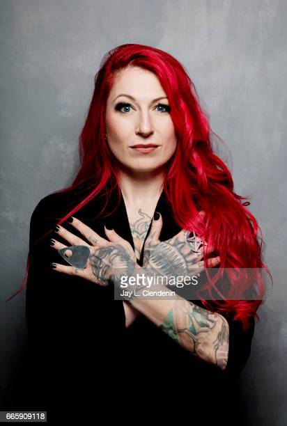 Director Jovanka Vuckovic from the film XX is photographed at the 2017 Sundance Film Festival for Los Angeles Times on January 22 2017 in Park City...