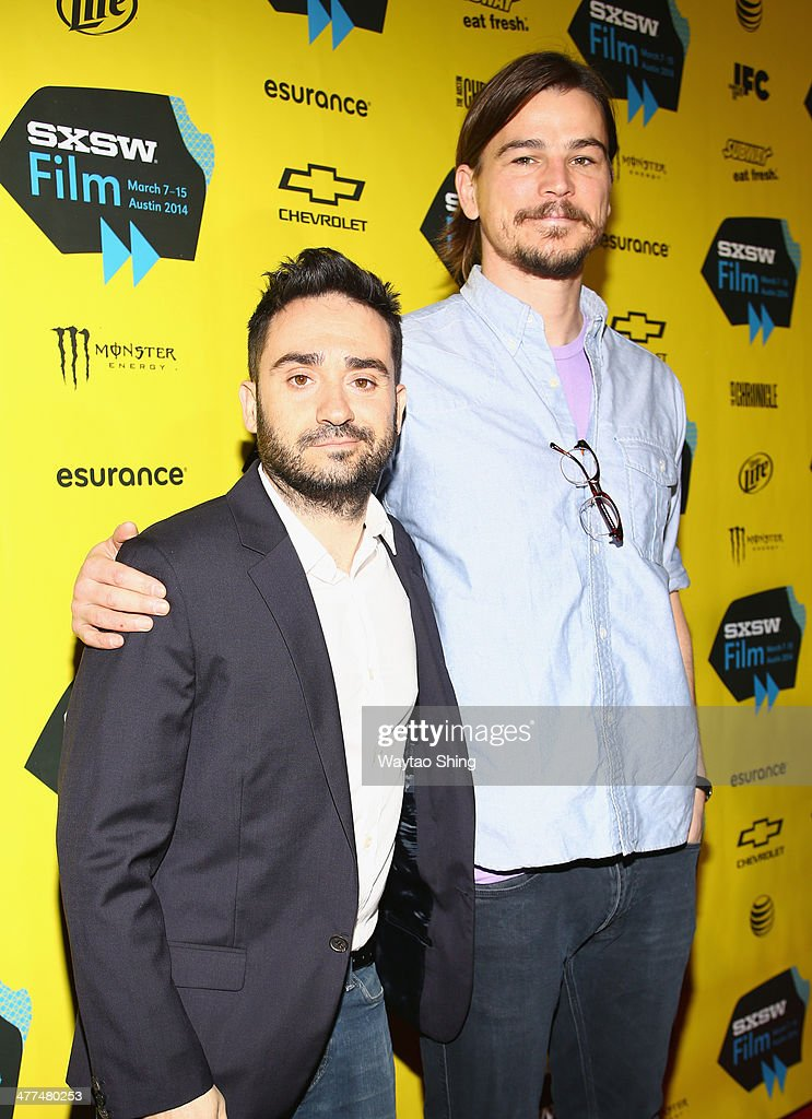 Director Juan Antonio Bayona and actor Josh Hartnett attend 'Penny Dreadful' during the 2014 SXSW Music, Film + Interactive Festival at Austin Convention Center on March 9, 2014 in Austin, Texas.