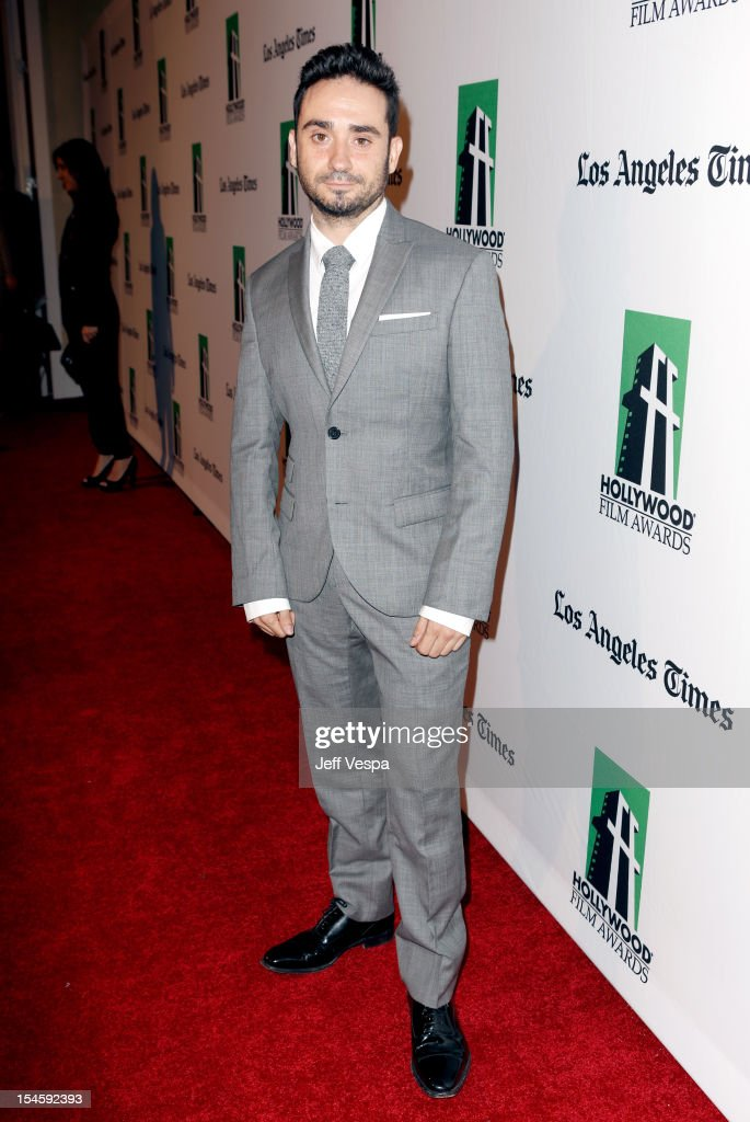 Director Juan Antonio Bayona arrives at the 16th Annual Hollywood Film Awards Gala presented by The Los Angeles Times held at The Beverly Hilton Hotel on October 22, 2012 in Beverly Hills, California.