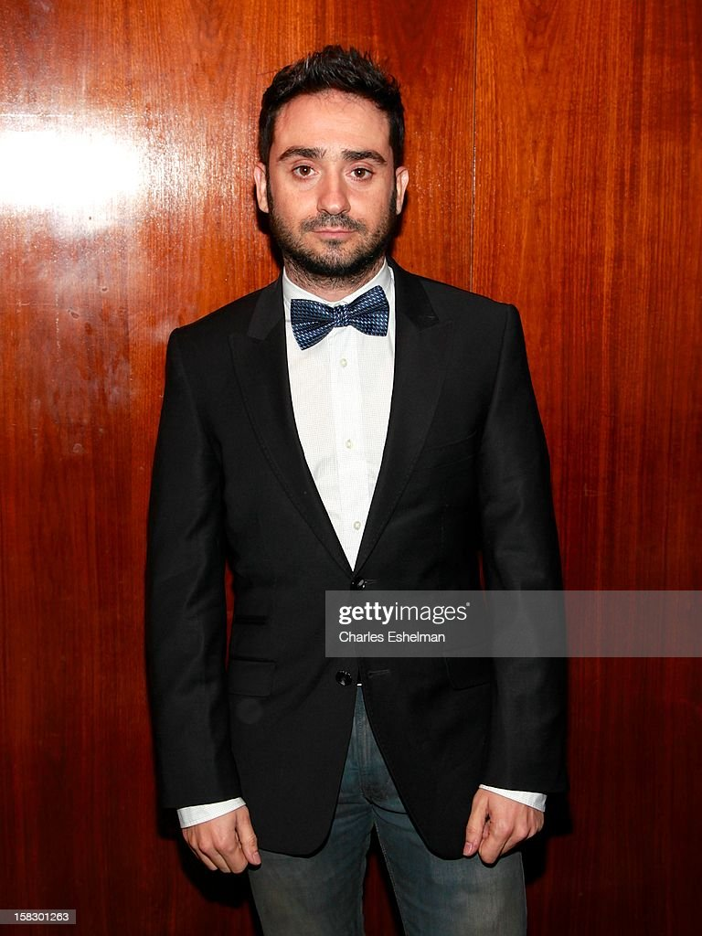 Director Juan Antonio Bayona attends 'The Impossible' screening at the Museum of Art and Design on December 12, 2012 in New York City.