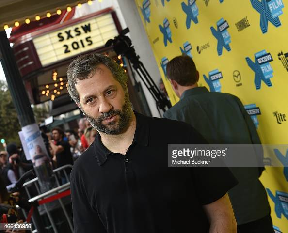Director Judd Apatow arrives at the screening of 'Trainwreck' during the 2015 SXSW Music Film Interactive Festival at the Paramount on March 15 2015...