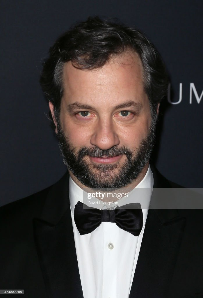 Director Judd Apatow attends the 16th Costume Designers Guild Awards with presenting sponsor Lacoste at The Beverly Hilton Hotel on February 22, 2014 in Beverly Hills, California.