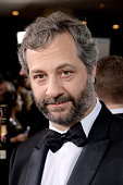 Director Judd Apatow attends the 72nd Annual Golden Globe Awards at The Beverly Hilton Hotel on January 11 2015 in Beverly Hills California