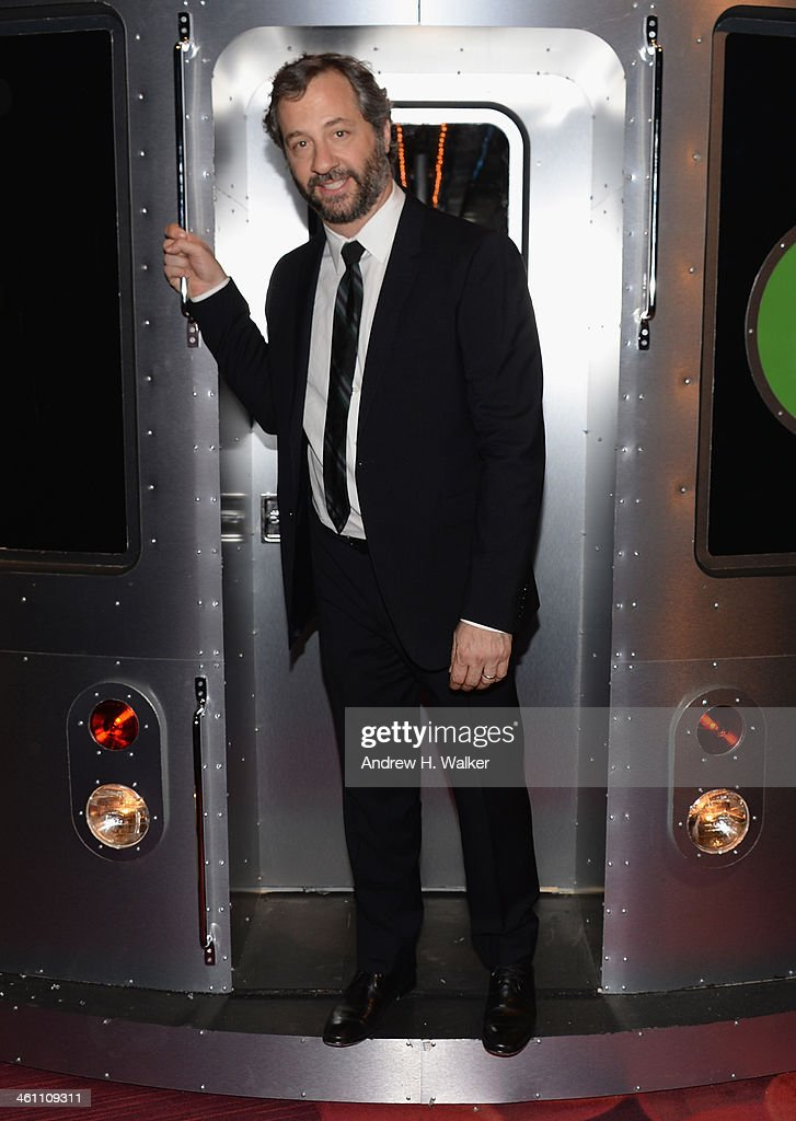 Director Judd Apatow attends the 'Girls' Season Three premiere after party at Jazz at Lincoln Center on January 6 2014 in New York City