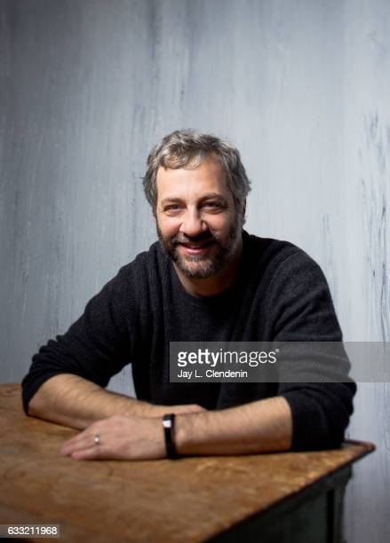 Director Judd Apatow from the film 'Wind River' is photographed at the 2017 Sundance Film Festival for Los Angeles Times on January 19 2017 in Park...