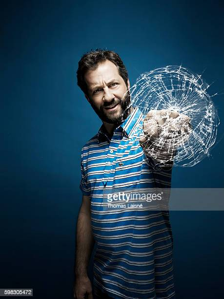 Director Judd Apatow is photographed for Self Assignment on September 22 2009 in Paris France