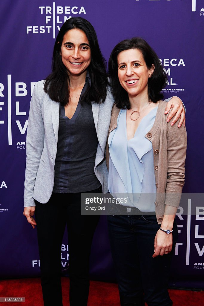 Director Julia Bacha and executive producer Ronit Avni of the film 'My Neighbourhood' attend 'Help Wanted' Shorts Program during the 2012 Tribeca Film Festival at the AMC Lowes Village on April 21, 2012 in New York City.