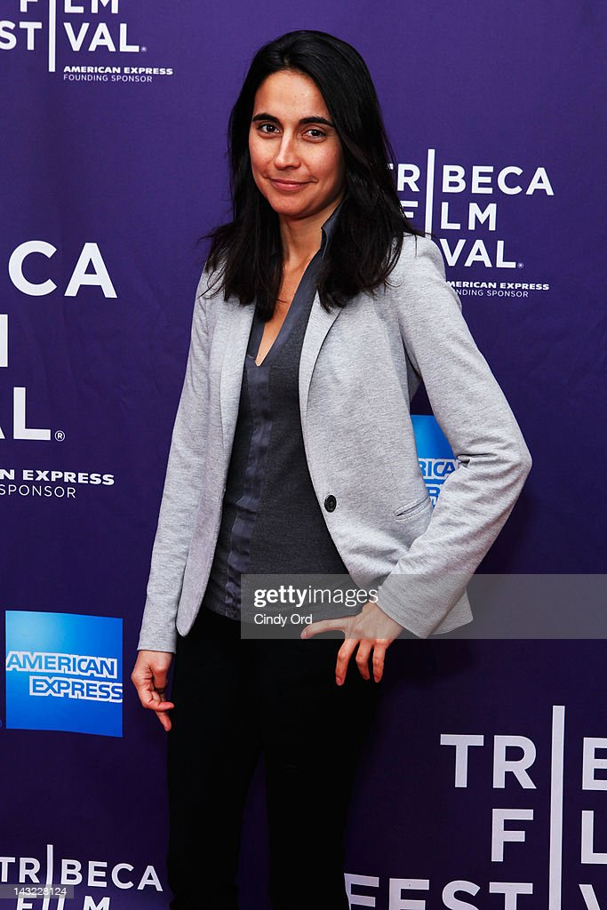 Director Julia Bacha of the film 'My Neighbourhood' attends 'Help Wanted' Shorts Program during the 2012 Tribeca Film Festival at the AMC Lowes Village on April 21, 2012 in New York City.