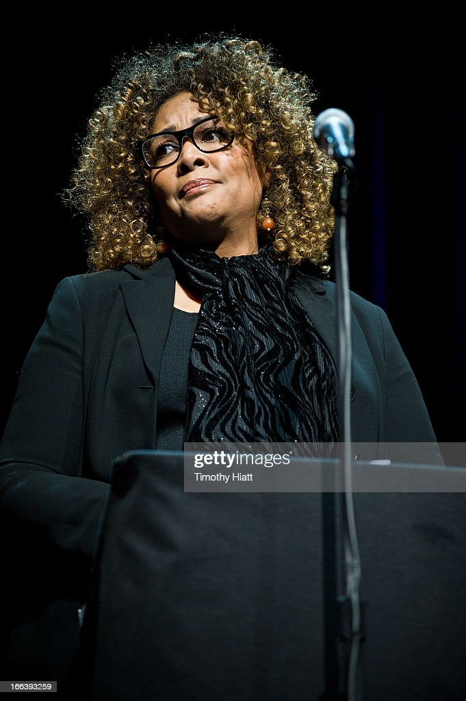 Director Julie Dash attends the Roger Ebert Memorial Tribute at Chicago Theatre on April 11, 2013 in Chicago, Illinois.