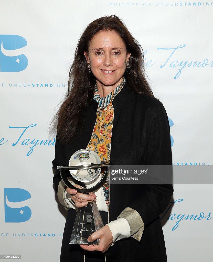 Bridges of Understanding's Annual 'Building Bridges' Award Dinner Honoring Tony Award Winning Director Julie Taymor