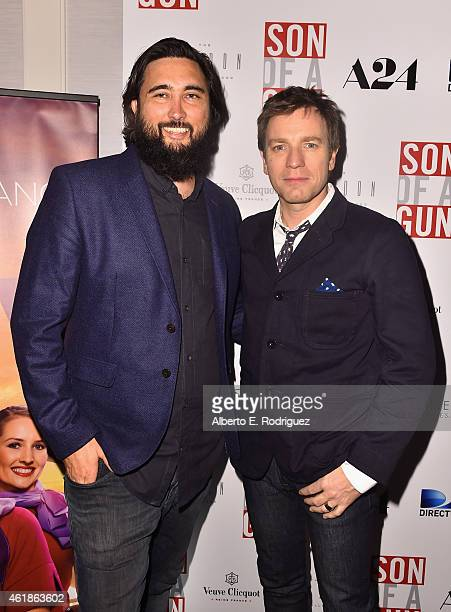 Director Julius Avery and actor Ewan McGregor attend the Los Angeles screening of 'Son Of A Gun' at The London West Hollywood on January 20 2015 in...