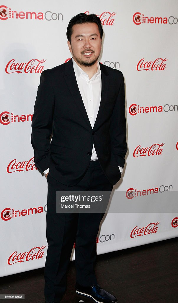 Director <a gi-track='captionPersonalityLinkClicked' href=/galleries/search?phrase=Justin+Lin&family=editorial&specificpeople=593881 ng-click='$event.stopPropagation()'>Justin Lin</a>, recipient of the Director of the Year Award, arrives at the CinemaCon Big Screen Achievement Awards at the Pure Nightclub at Caesars Palace during CinemaCon 2013 on April 18, 2013 in Las Vegas, Nevada.