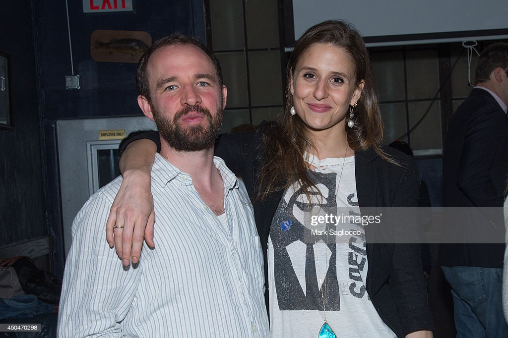 Director Justin Reichman and actress Genevieve Hudson attend the 'A Wife Alone' Premiere Party at Grey Lady on June 11, 2014 in New York City.