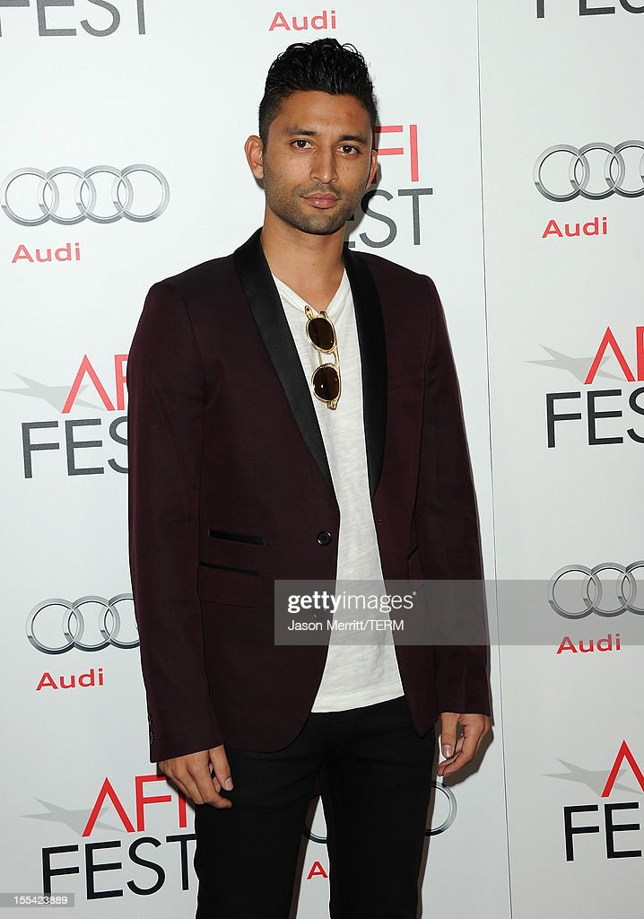 Director Justin Tipping arrives at the 'Holy Motors' special screening during the 2012 AFI Fest at Grauman's Chinese Theatre on November 3, 2012 in Hollywood, California.