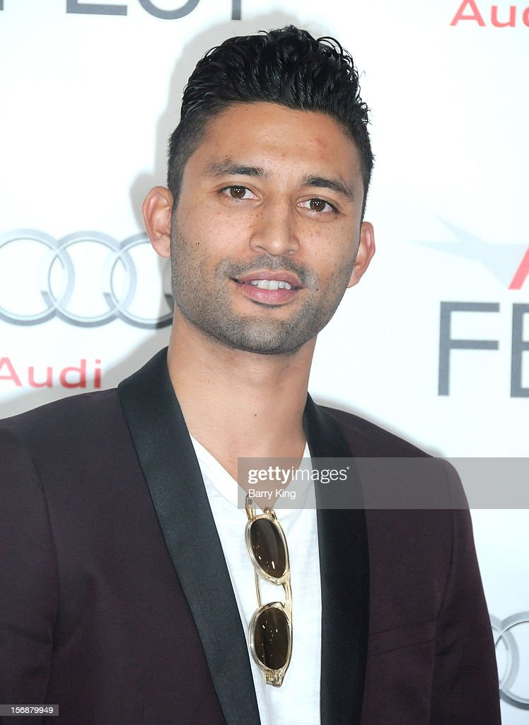Director Justin Tipping arrives to the 2012 AFI FEST 'Holy Motors' special screening held at Grauman's Chinese Theatre on November 3, 2012 in Hollyood, California.