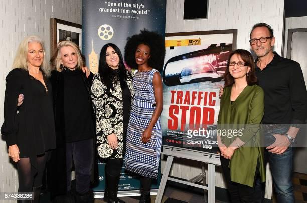 Director Kate Davis President of HBO Documentary Films Sheila Nevins attorney Erica Grigg subject of documentary Breaion King SVP of HBO Documentary...