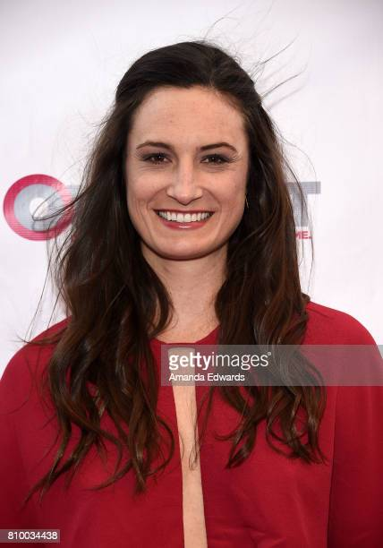 Director Katherine Fairfax Wright arrives at the 2017 Outfest Los Angeles LGBT Film Festival Opening Night Gala of 'God's Own Country' at the Orpheum...