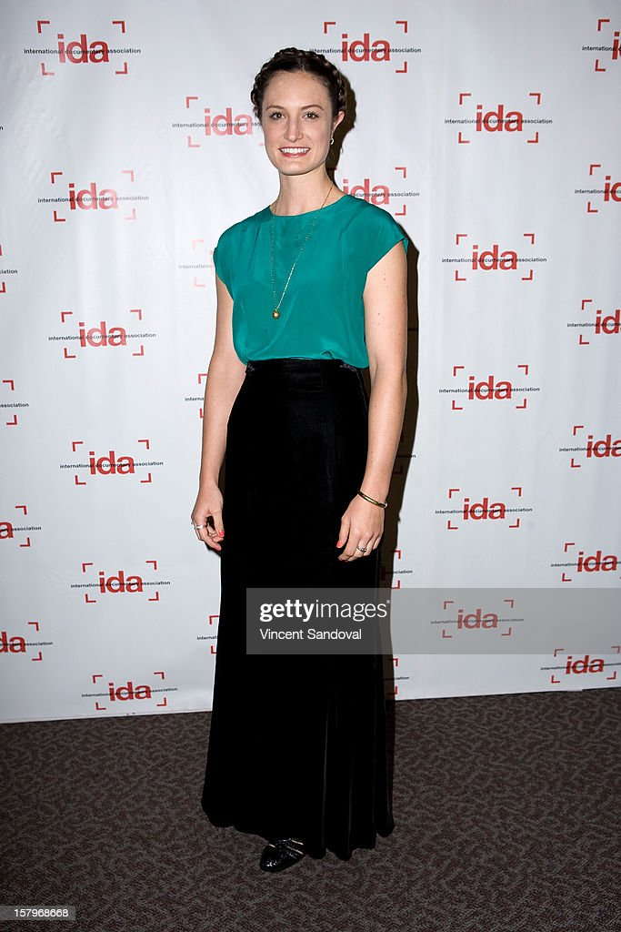 Director Katherine Fairfax Wright attends the 2012 IDA Documentary Awards at Directors Guild Of America on December 7, 2012 in Los Angeles, California.