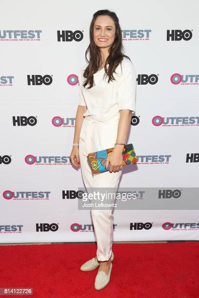 Director Katherine Fairfax Wright attends the 2017 Outfest Los Angeles LGBT Film Festival Screening of 'Behind The Curtain Todrick Hall' at The...