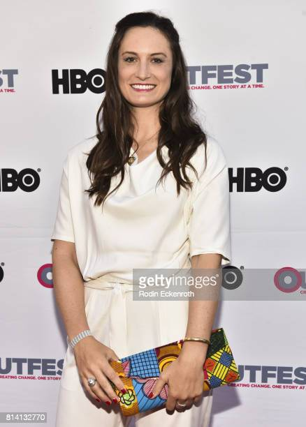 Director Katherine Fairfax Wright attends the 2017 Outfest Los Angeles LGBT Film Festival centerpiece screening of 'Behind The Curtain Todrick Hall'...