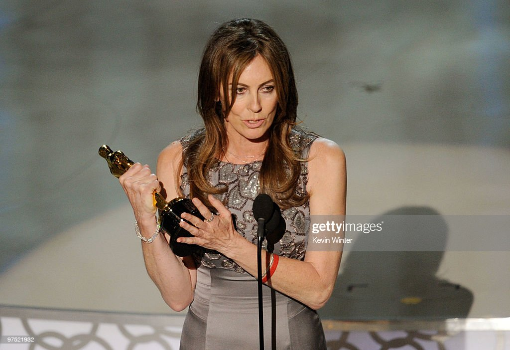 Director Kathryn Bigelow accepts Best Director award for 'The Hurt Locker' onstage during the 82nd Annual Academy Awards held at Kodak Theatre on...