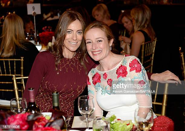 Director Kathryn Bigelow and actress Jennifer Ehle attend the 2013 BAFTA LA Jaguar Britannia Awards presented by BBC America at The Beverly Hilton...