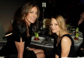 Director Kathryn Bigelow and actress Jodie Foster attend ELLE's 17th Annual Women in Hollywood Tribute at The Four Seasons Hotel on October 18 2010...