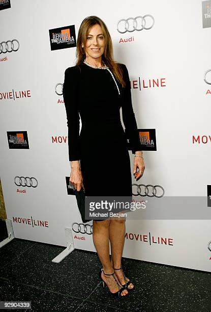 Director Kathryn Bigelow arrives at the 2009 Hamilton Behind The Camera awards held at The Highlands Club in the Hollywood Highland Center on...