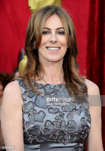 Director Kathryn Bigelow arrives at the 82nd Annual Academy Awards held at Kodak Theatre on March 7 2010 in Hollywood California