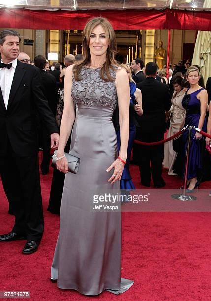 Director Kathryn Bigelow arrives at the 82nd Annual Academy Awards held at the Kodak Theatre on March 7 2010 in Hollywood California