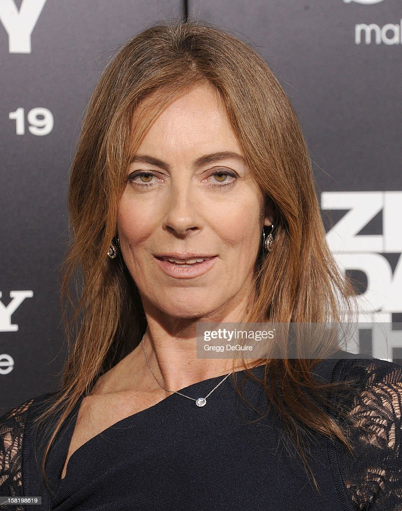 Director Kathryn Bigelow arrives at the Los Angeles premiere of 'Zero Dark Thirty' at the Dolby Theatre on December 10, 2012 in Hollywood, California.