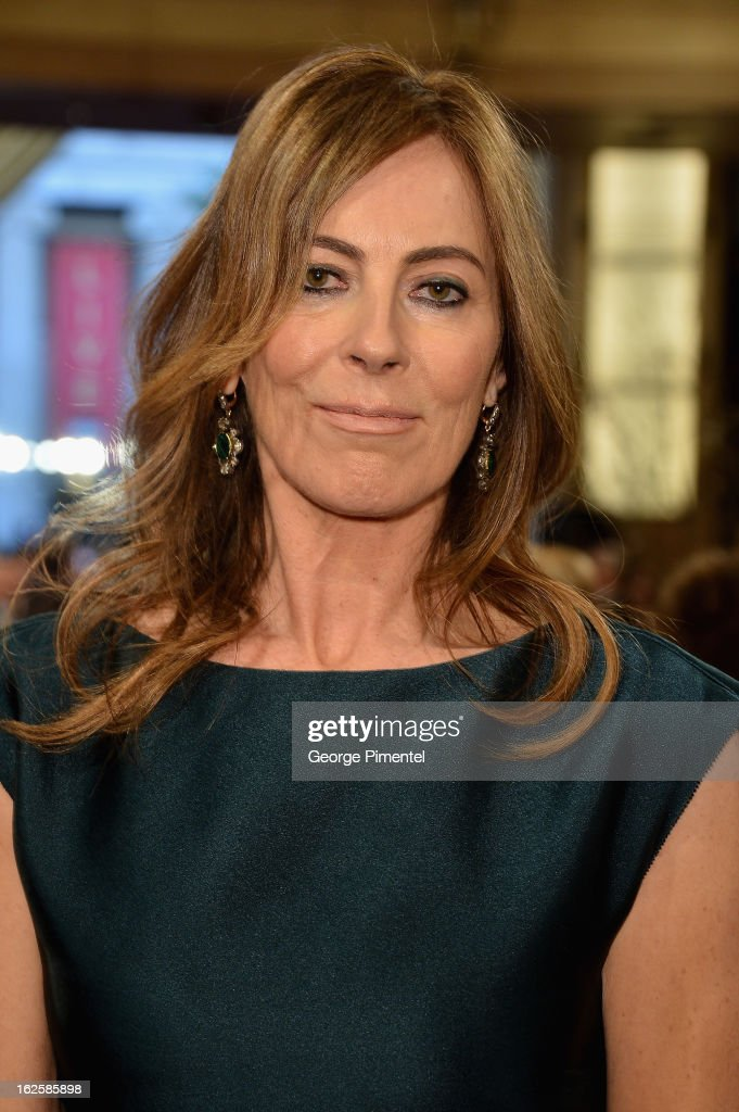 Director Kathryn Bigelow arrives at the Oscars at Hollywood & Highland Center on February 24, 2013 in Hollywood, California.