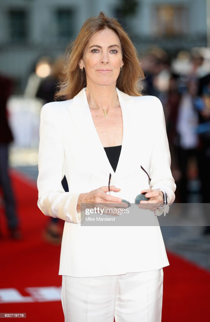Director Kathryn Bigelow arriving at the 'Detroit' European Premiere at The Curzon Mayfair on August 16, 2017 in London, England.