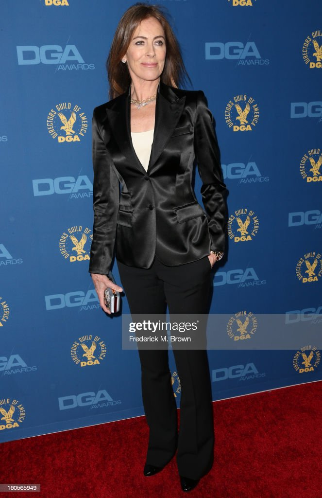 Director Kathryn Bigelow attends the 65th Annual Directors Guild Of America Awards at Ray Dolby Ballroom at Hollywood & Highland on February 2, 2013 in Los Angeles, California.