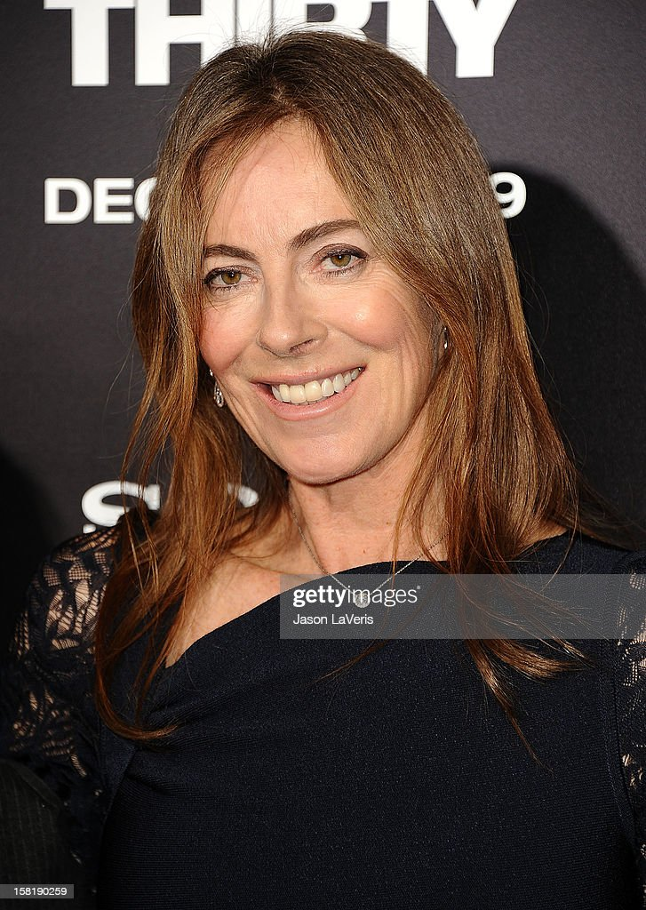 Director Kathryn Bigelow attends the premiere of 'Zero Dark Thirty' at the Dolby Theatre on December 10, 2012 in Hollywood, California.