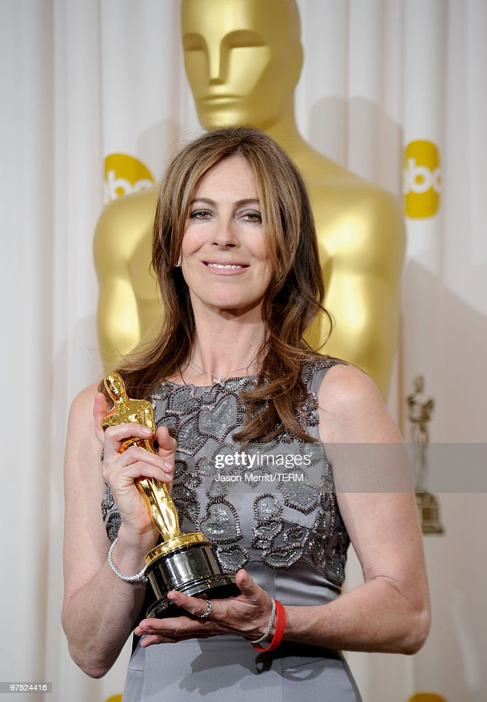 Director Kathryn Bigelow winner of Best Director award for 'The Hurt Locker' poses in the press room at the 82nd Annual Academy Awards held at Kodak...
