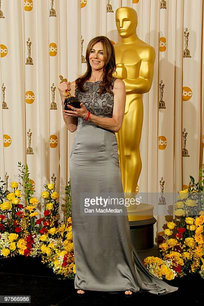 Director Kathryn Bigelow winner of Best Director for 'The Hurt Locker' poses in the press room at the 82nd Annual Academy Awards held at the Kodak...