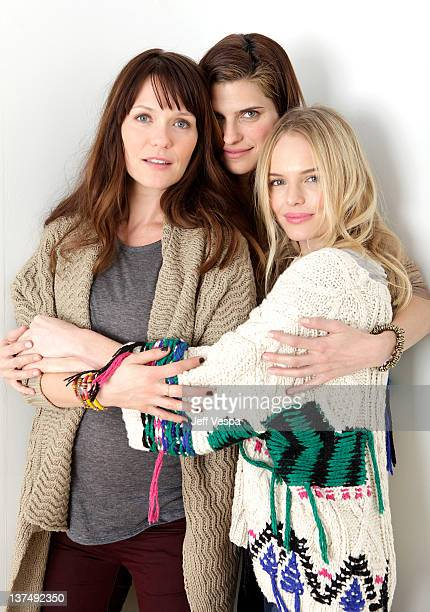 Director Katie Aselton and actresses Lake Bell and Kate Bosworth pose for a portrait during the 2012 Sundance Film Festival at the WireImage Portrait...