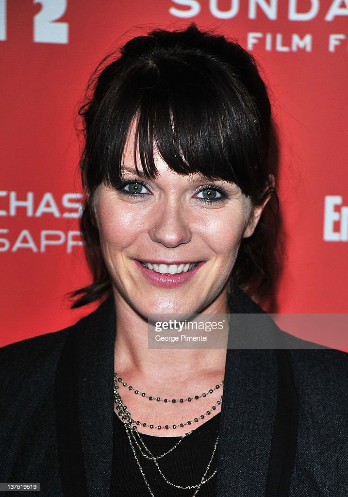 Director Katie Aselton arrives at the 'Black Rock' Premiere during the 2012 Sundance Film Festival at Library Center Theater on January 21, 2012 in Park City, Utah.