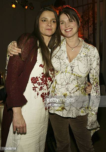 Director Katja von Garnier and Julia Ormond during Los Angeles Premiere of 'Iron Jawed Angels' AfterParty at Annex Nightclub in Hollywood California...