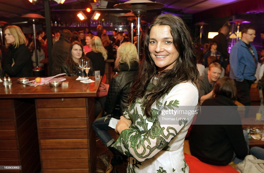 Director Katja von Garnier attends the after party for the premiere of the film 'Ostwind' on March 17, 2013 in Frankfurt am Main, Germany. The family film portrays the friendship between the young Mika and the wild and shy stallion 'Ostwind' (east wind).