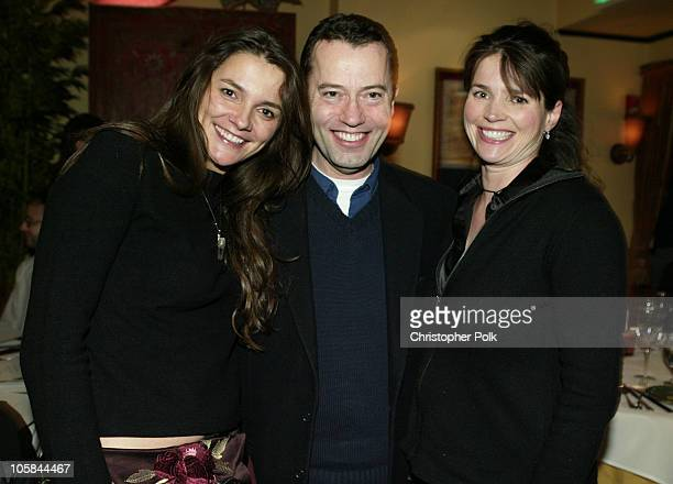 Director Katja von Garnier Colin Callender president of HBO Films and Julia Ormond