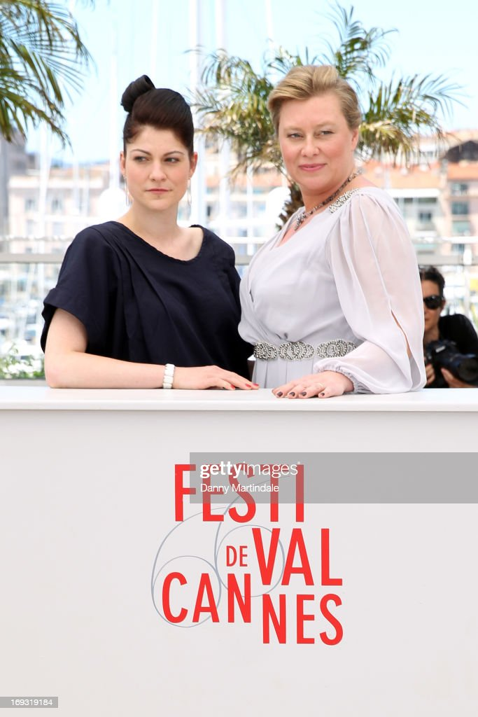 Director Katrin Gebbe and producer Verena Grafe-Hoeft attend the photocall for 'Tore Tantz' at The 66th Annual Cannes Film Festival at Palais des Festival on May 23, 2013 in Cannes, France.