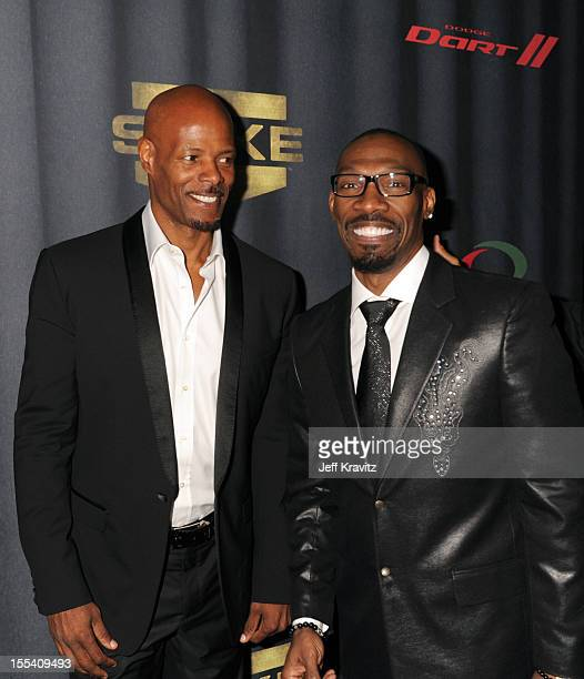 Director Keenen Ivory Wayans and actor Charlie Murphy arrive at Spike TV's 'Eddie Murphy One Night Only' at the Saban Theatre on November 3 2012 in...
